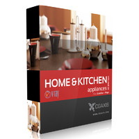 3d volume 20 home kitchen appliances model