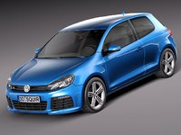 Volkswagen Golf R 2012 3door