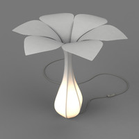 hana lamp 3d 3ds