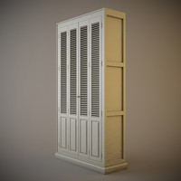 eichholtz cabinet bay ridge 3d model