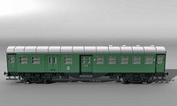 German railway car BDYG533