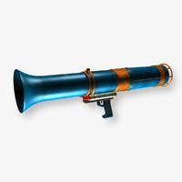 toy bazooka 3d c4d