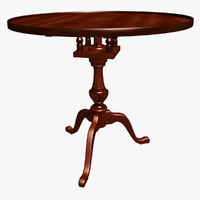 Chippendale Tea Table