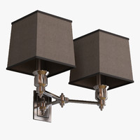 eichholtz lamp lexington double 3d model