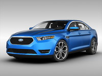 3ds max car taurus sho
