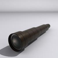 maya telescope lens