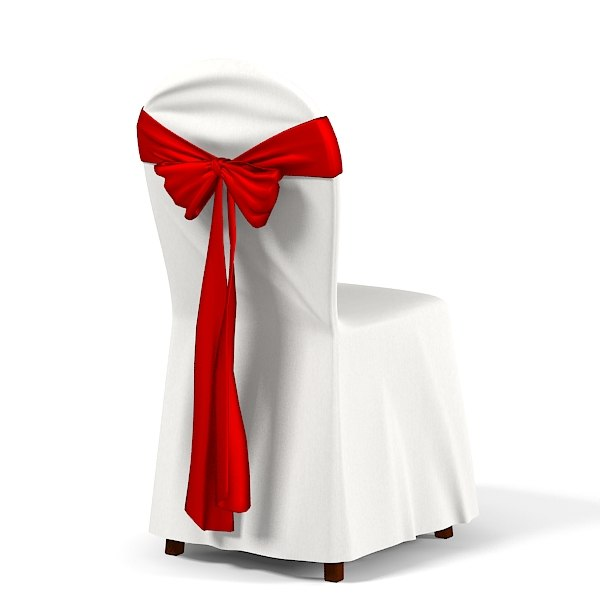 Restaurant Wedding dining Chair cover bow bot tie knot  cafe party0001.jpg