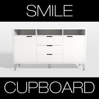 3d model smile cupboard