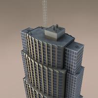 cinema4d sky scraper skyscraper