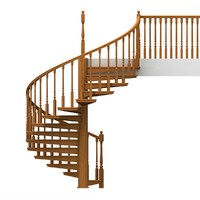 spiral wooden staircases max