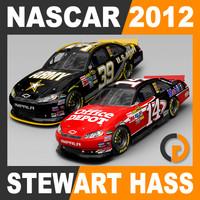 3ds max nascar 2012 stewart haas