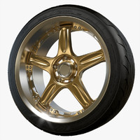 3d volk racing wheel gt-c