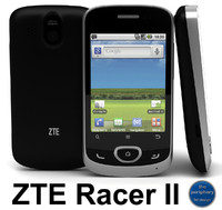 3dsmax zte racer ii smartphone
