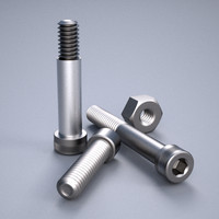 3d model precision socket cap fasteners