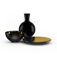 3d vase bowl model