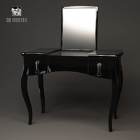 fendi lady desk 3d max
