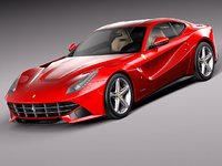 3ds max ferrari f12 berlinetta
