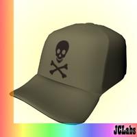 3d model cap