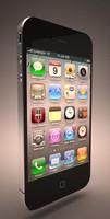 iphone 4 3d max