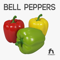 bell pepper 3d 3ds