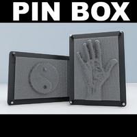 pinbox pins 3d model
