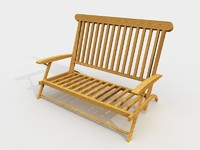 wooden garden chair wood max