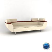 sofa divan couch 3d model