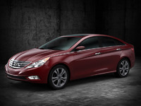 hyundai sonata 3d model