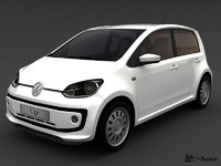volkswagen up! 5door 2013 3d model