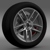 Ford Mustang Boss 302 2013 wheel