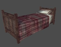 old bed obj