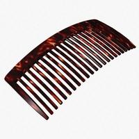 hair comb 3d obj