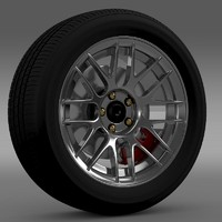 Ford Mustang Boss 302R 2011 wheel