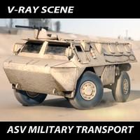 asv scene 3d model