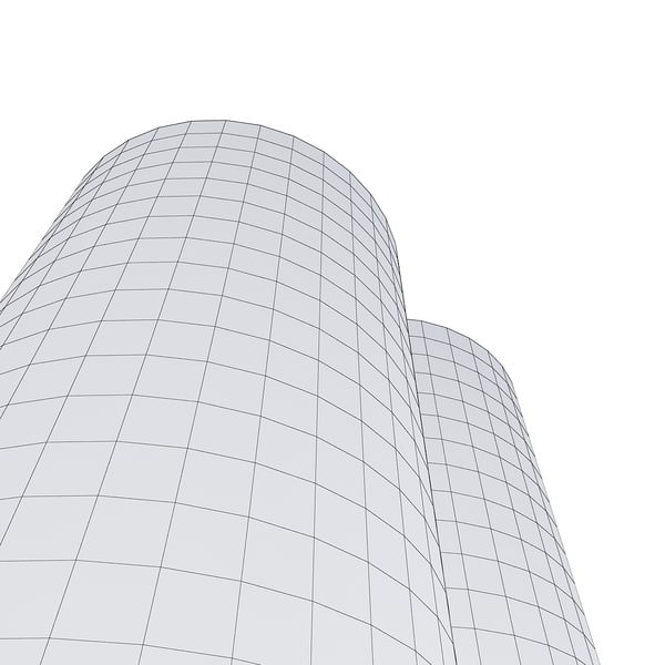 new skyscraper 80 3d model - New Skyscraper 80... by fuuuuuu