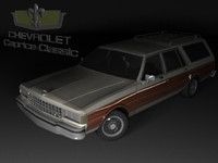 chevrolet caprice wagon 3d max