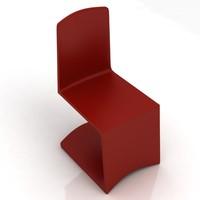 3d designer chair