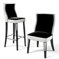 Florence Collections Bar counter stool & dining chair set