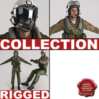 Military Pilots Rigged Collection