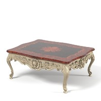 Palmobili Classic carved coffee table