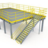 3d model industrial platform