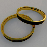 golden ring 3d max