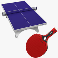 3d table tennis