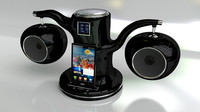 3d ipod docking station