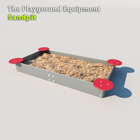 3d playground equipment model