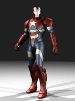 3dsmax norman osborn avengers iron