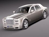 rolls royce phantom sedan 3d 3ds
