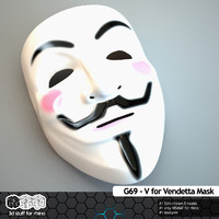 G69-V for Vendetta MASK