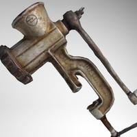 3d model hand grinder