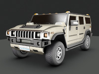 3ds max hummer h2